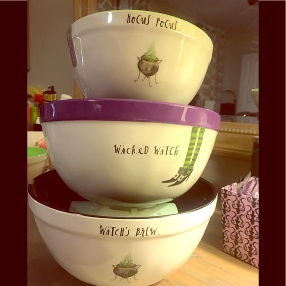 Rae Dunn Other - Set of 3 new Rae Dunn halloween bowls